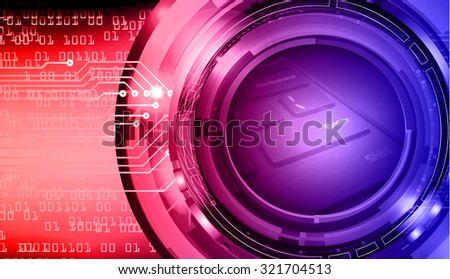 dark red purple illustration of technology internet network computer background with binary number, style background. infographics. Information. motion blur. pixel. Binary digit - stock photo