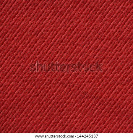 dark red textile texture - stock photo