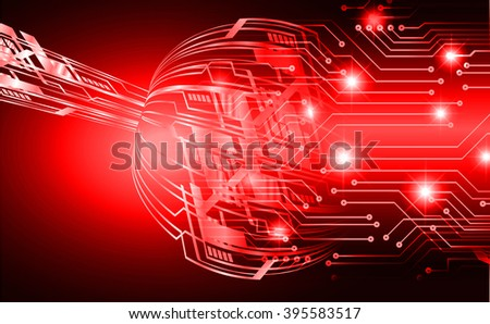 dark red wave Light Abstract Technology background for computer graphic website internet and business. circuit. illustration. digital. infographics. binary code background.  - stock photo