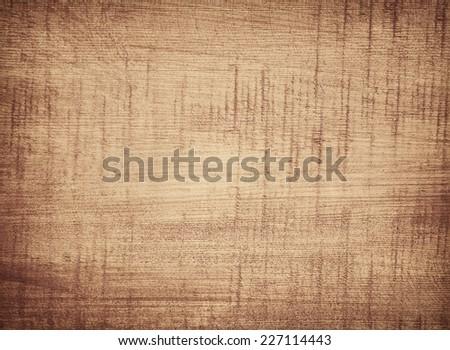 Dark scratched grunge cutting board. Wooden texture. - stock photo