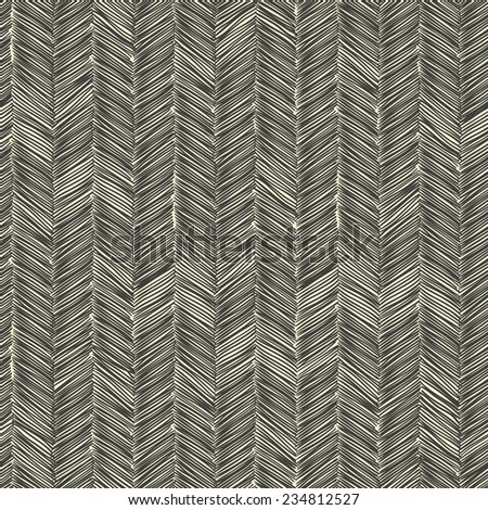 Dark scribble seamless pattern. Raster version - stock photo
