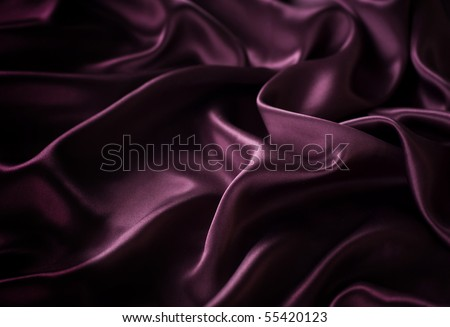 Dark Silk background - stock photo