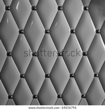 Dark vintage bumpy ceramics wall. Background or texture - stock photo