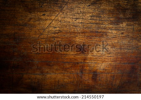 dark wood for texture or background - stock photo