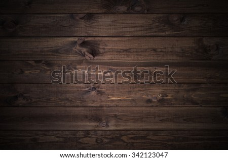 dark wood planks background  - stock photo