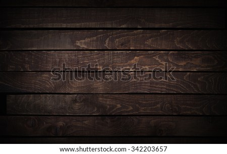 dark wood texture. background old panels. - stock photo