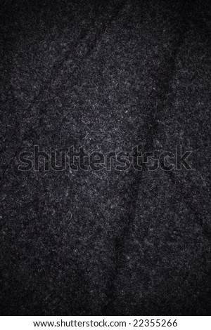 Dark wool fabric of greatcoat - stock photo