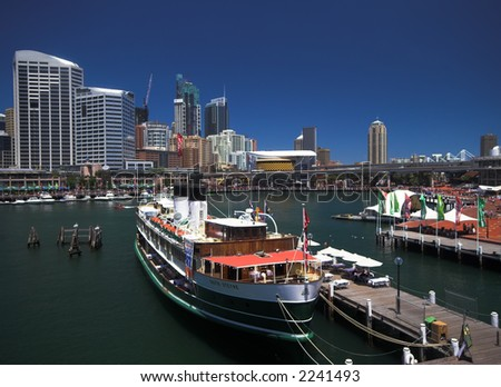 Darling Harbour, Sydney, Australia - stock photo