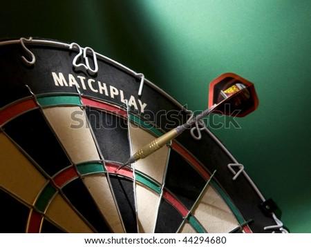 Darts game - stock photo