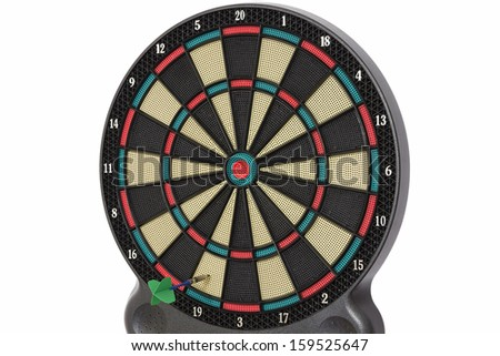 Darts game, number 19 - stock photo
