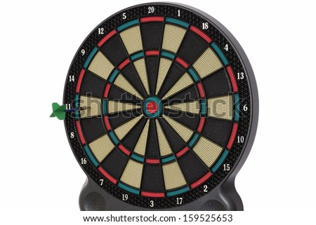 Darts game, number 11 - stock photo