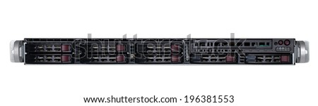 Data center - server - stock photo