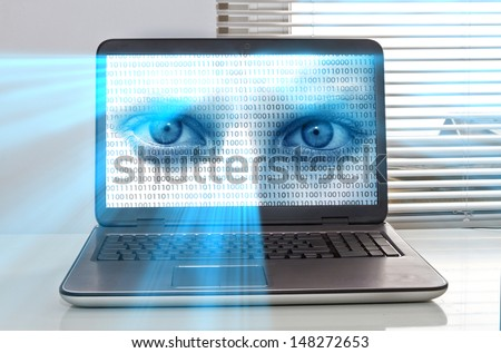 Data protection  - stock photo