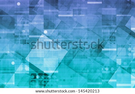 Data Protection and a Security Center Network - stock photo