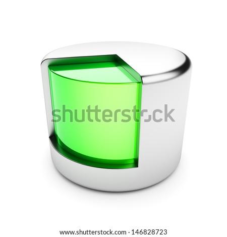 Data storage - stock photo