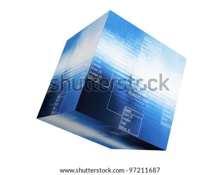 Database Table - stock photo