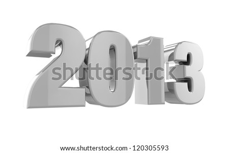 Date on isolated background - stock photo