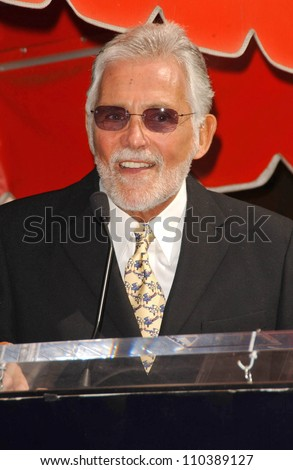 David Hedison  at the ceremony honoring Roger Moore with the 2,350th Star on the Hollywood Walk of Fame. Hollywood Boulevard, Hollywood, CA. 10-11-07 - stock photo