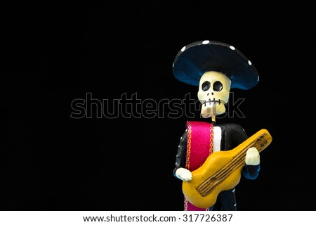 Day of the Dead (Mexican tradition) - stock photo