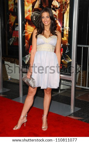 "Dayanara Torres at the Los Angeles Premiere of ""Rush Hour 3"". Mann's Chinese Theater, Hollywood, CA. 07-30-07 - stock photo"