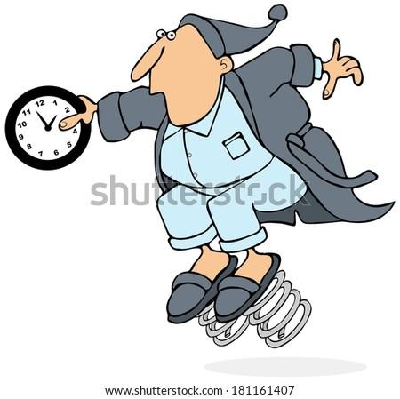 Daylight savings time - stock photo