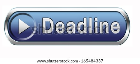 deadline, working time pressure punctual schedule and urgent timing hurry up to clock countdown late appointment countdown for event - stock photo