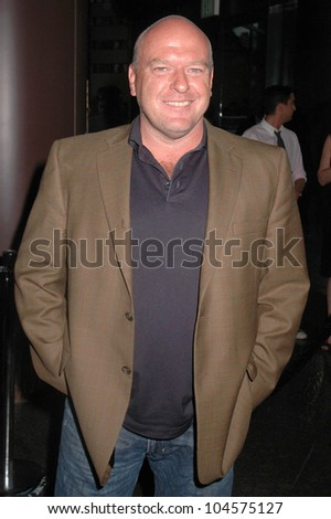 Dean Norris at the premiere of 'Mad Men' Season Three. Directors Guild Theatre, West Hollywood, CA. 08-03-09 - stock photo