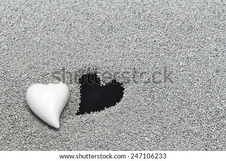 Death of a loved one, condolence, sympathy - stock photo