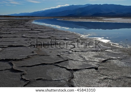 Death Valley - stock photo