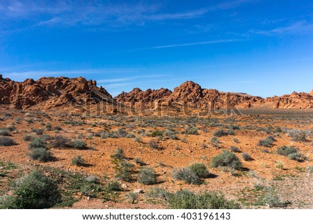 Death Valley Landscape - stock photo