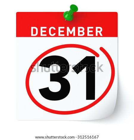 31 Dezember