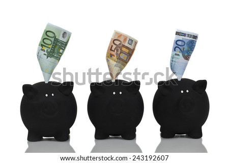 Decision for my money - stock photo