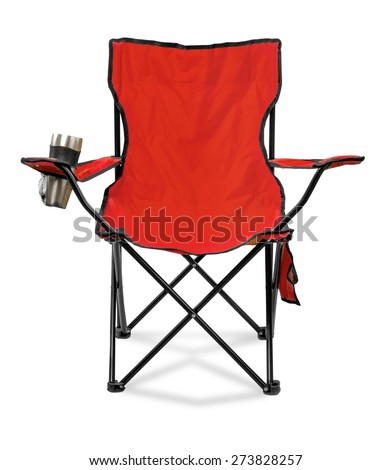 Deck Chair, Outdoor Chair, Chair. - stock photo