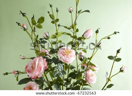 decoration artificial flower - stock photo