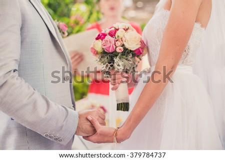 decoration for wedding - stock photo