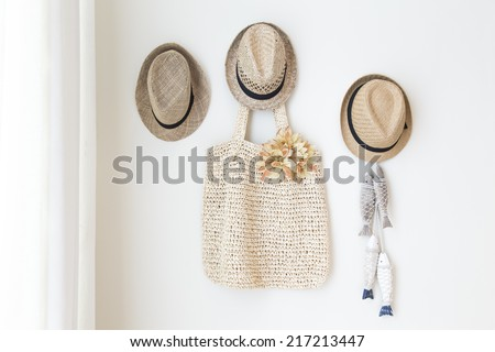 decoration hat hanger - stock photo