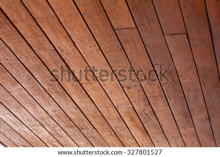 Decorative dark rough and grunge wood wallpaper texture - stock photo