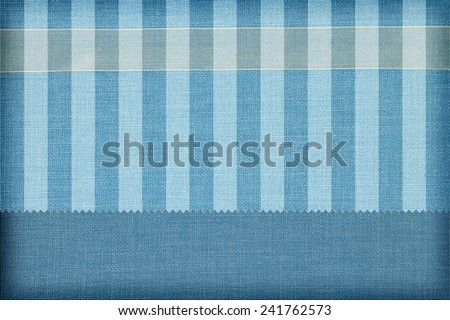 Decorative fabric background. Scrapbook, photobook concept  - stock photo