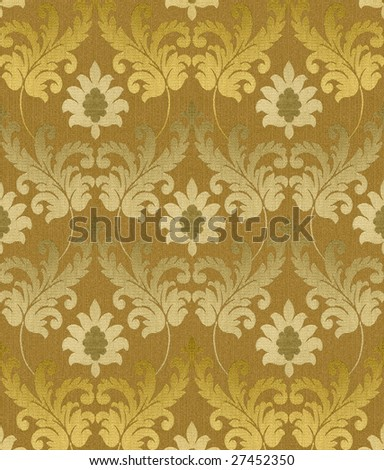 Decorative original renaissance background - stock photo