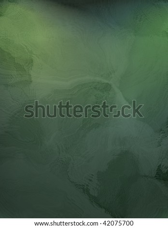 deep green abstract background - stock photo