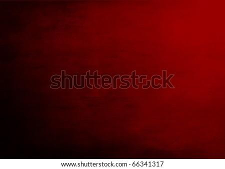 Deep red grunge background - stock photo