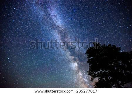 deep sky astrophoto  - stock photo