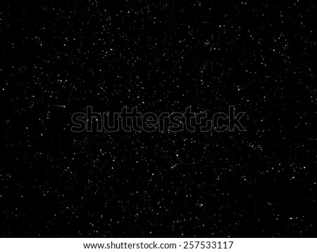 Deep Space with little Stars Background - stock photo