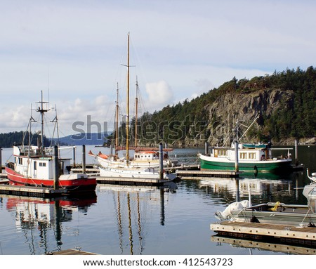 Deer Harbor, Orcas Island - stock photo