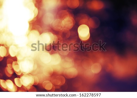 Defocus lights - stock photo