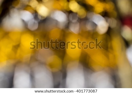 Defocus or blured Christmas decoration boken - stock photo