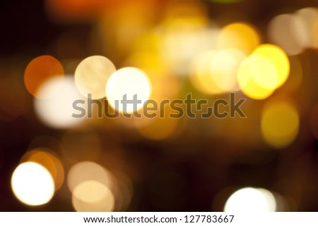 Defocused abstract colorful lights - stock photo