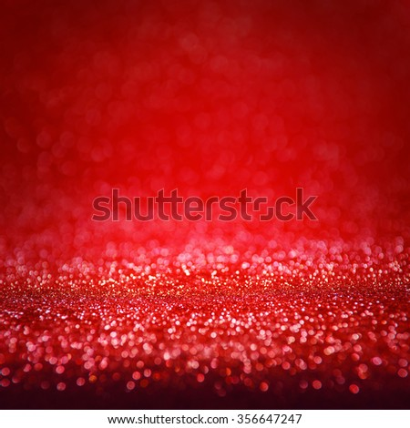 Defocused abstract red lights background. - stock photo