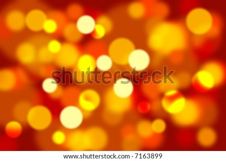 Defocused abstract sparkling lights background - stock photo