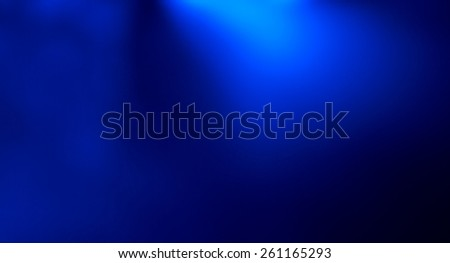 Defocused blue presentation abstract background - stock photo